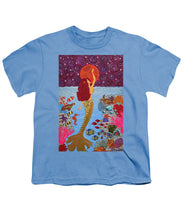 Load image into Gallery viewer, Mermaid Painting With Moon - Youth T-Shirt - Teresa Andre Art