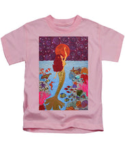 Load image into Gallery viewer, Mermaid Painting With Moon - Kids T-Shirt - Teresa Andre Art