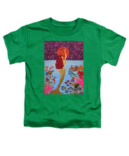 Load image into Gallery viewer, Mermaid Painting With Moon - Toddler T-Shirt - Teresa Andre Art