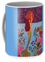 Load image into Gallery viewer, Mermaid Painting With Moon - Mug - Teresa Andre Art