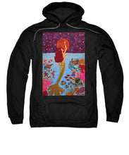 Load image into Gallery viewer, Mermaid Painting With Moon - Sweatshirt - Teresa Andre Art