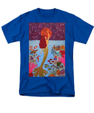 Load image into Gallery viewer, Mermaid Painting With Moon - Men's T-Shirt  (Regular Fit) - Teresa Andre Art