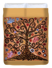 Load image into Gallery viewer, Tree Of Life - Duvet Cover - Teresa Andre Art
