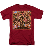 Load image into Gallery viewer, Tree Of Life - Men's T-Shirt  (Regular Fit) - Teresa Andre Art