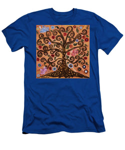 Tree Of Life - Men's T-Shirt (Athletic Fit) - Teresa Andre Art