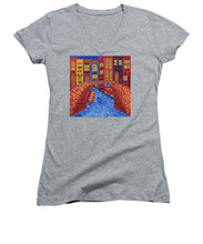 Load image into Gallery viewer, Venice Italy Bridge - Women's V-Neck