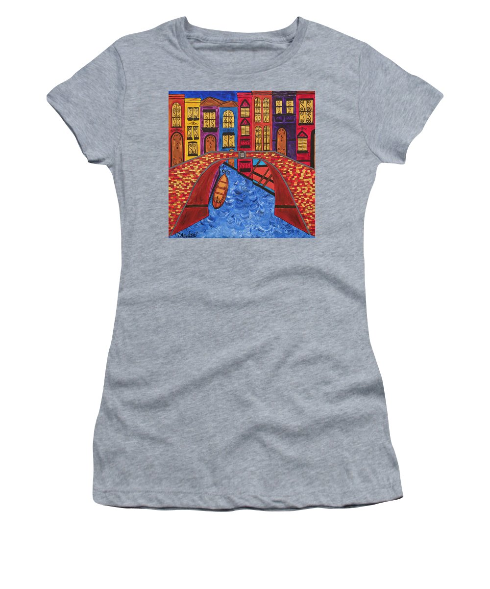 Venice Italy Bridge - Women's T-Shirt