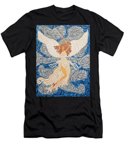 Victorious Angel - Men's T-Shirt (Athletic Fit) - Teresa Andre Art