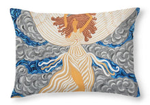 Load image into Gallery viewer, Victorious Angel - Throw Pillow - Teresa Andre Art