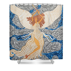 Victorious Angel - Shower Curtain