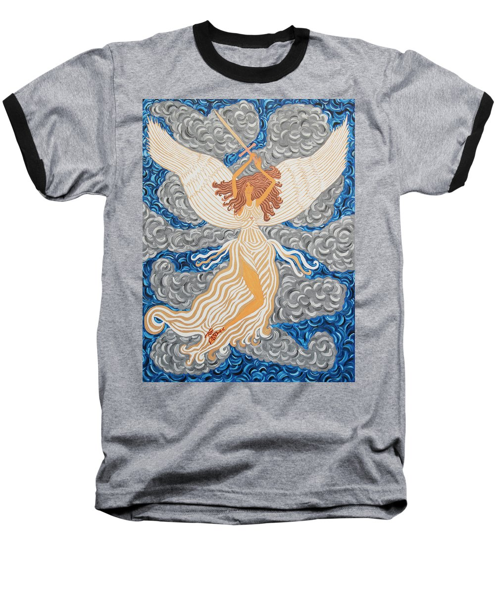 Victorious Angel - Baseball T-Shirt