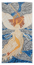 Load image into Gallery viewer, Victorious Angel - Beach Towel - Teresa Andre Art