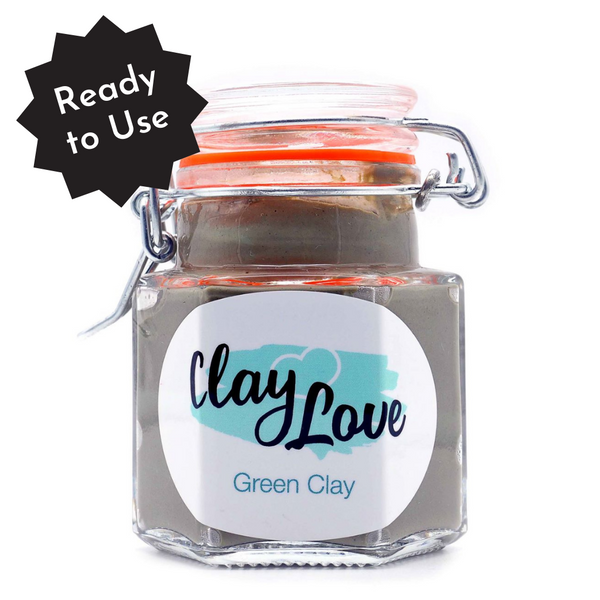 Green Clay for Combination Skin Type