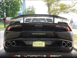 COMING SOON IMS HSV CARBON FIBER HURACAN REAR SPOILER