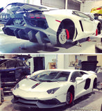 IMS R72  Aventador  Front and Rear bumper.