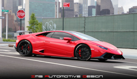 IMS Huracan Carbon Fiber Side Skirts.