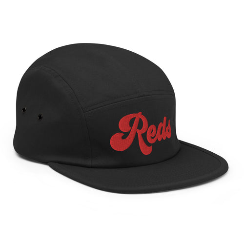Reds Five Panel Hat - Soccer Snapbacks