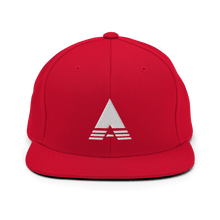"Load image into Gallery viewer, ""A"" is for Highbury Snapback Hat - Soccer Snapbacks"
