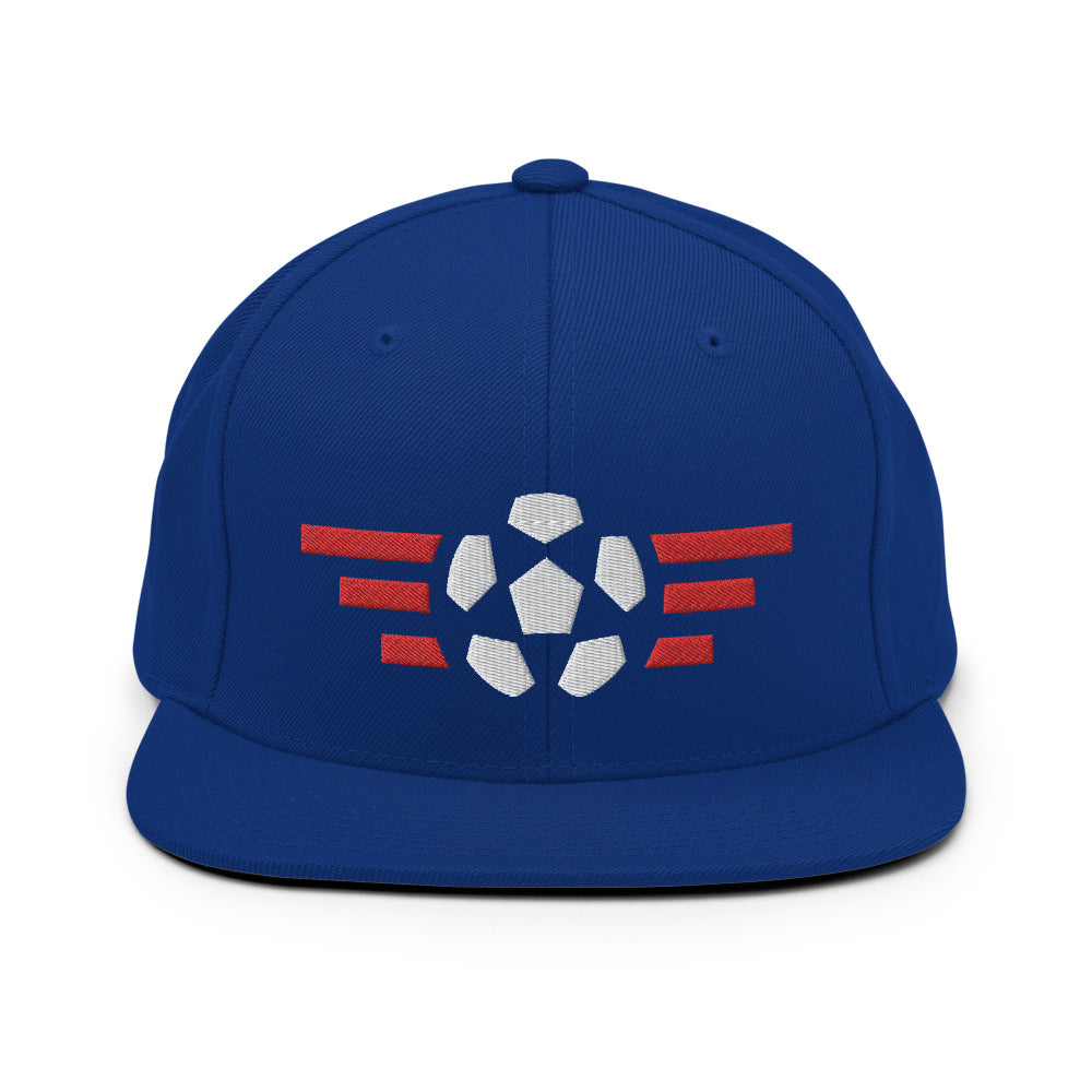 US Flight Snapback Hat - Soccer Snapbacks