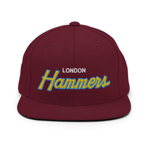 London Hammers Soccer Snapback Hat