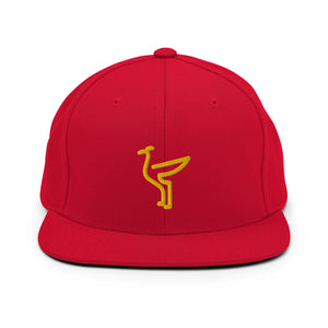 The Liver Bird - Soccer Snapbacks