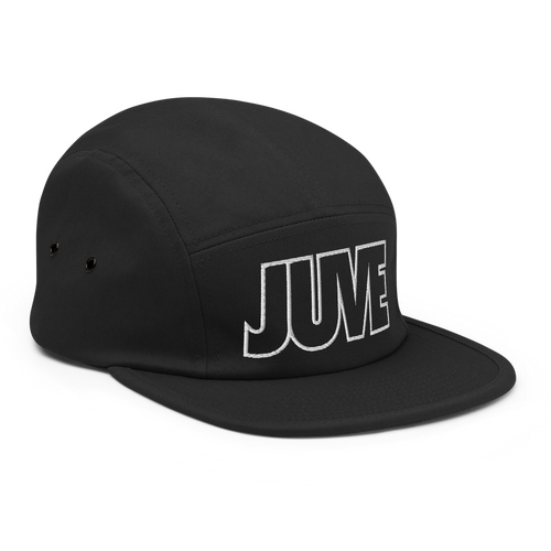 Juve Bold Five Panel Hat - Soccer Snapbacks