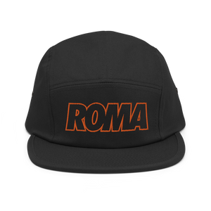 Roma Five Panel Hat - Soccer Snapbacks