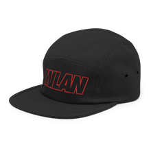 Load image into Gallery viewer, Milan Bold Five Panel Hat - Soccer Snapbacks