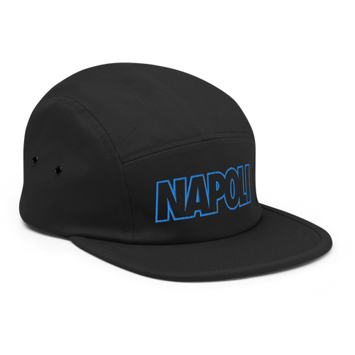 Napoli Bold Five Panel Hat - Soccer Snapbacks