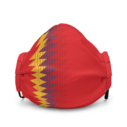 Spain Fan Mask - Soccer Snapbacks