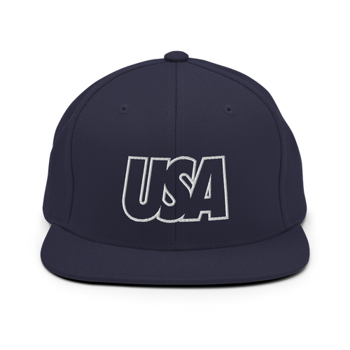 USA Snapback Hat - Soccer Snapbacks