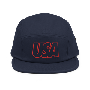 USA Five Panel Hat - Soccer Snapbacks