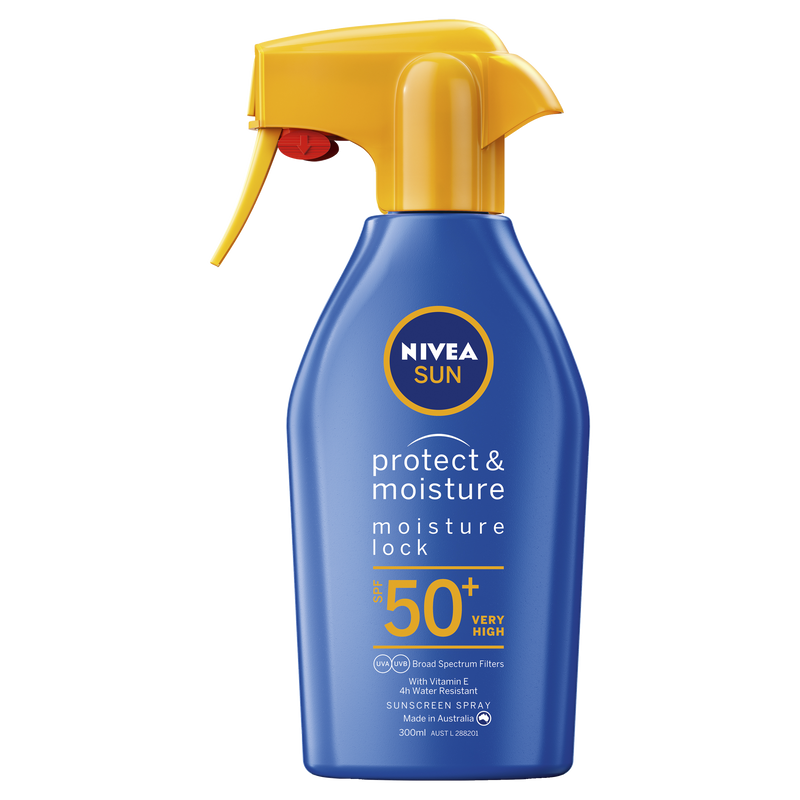 Nivea Protect & Moisture Moisturising Sunscreen Lotion SPF50+ 300ml