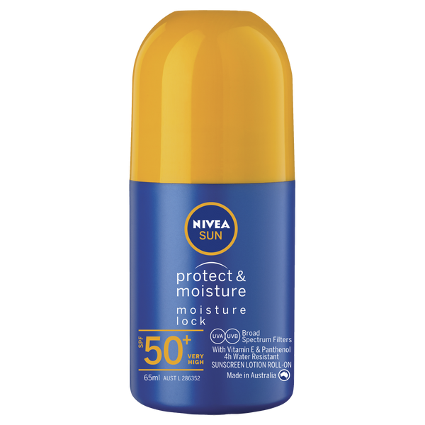 Nivea Protect & Moisture Moisturising Sunscreen Roll-On SPF50+ 65ml