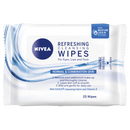 Nivea Daily Essentials Refreshing Facial Cleansing Wipes 25pcs