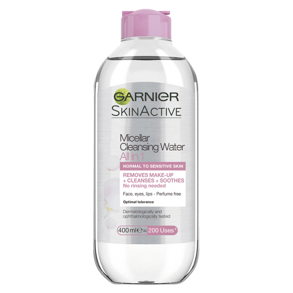 Garnier SkinActive Micellar Cleansing Water For All Skin Types 400ml