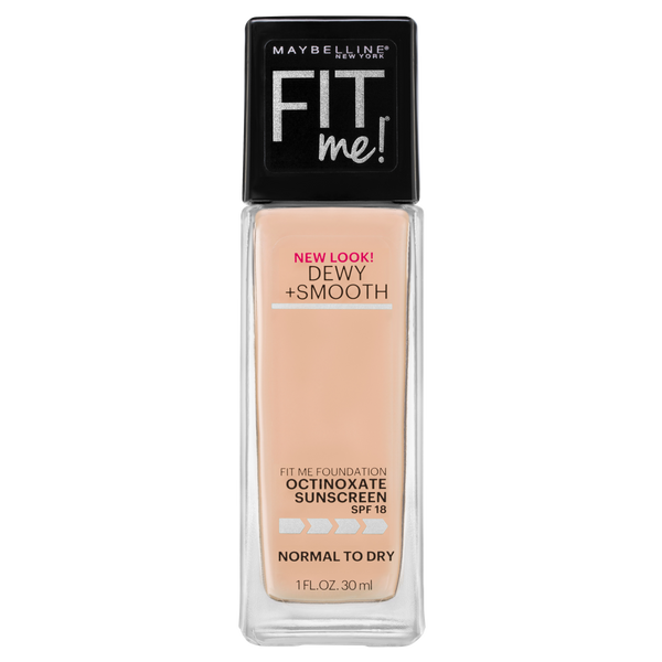 Maybelline Fit Me Dewy & Smooth Luminous Liquid Foundation - Classic Ivory 120