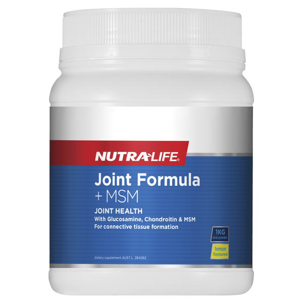 Nutra-Life Joint Formula + MSM 1kg Oral Powder