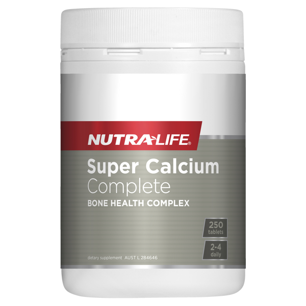 Nutra-Life Super Calcium Complete 250 Tablets