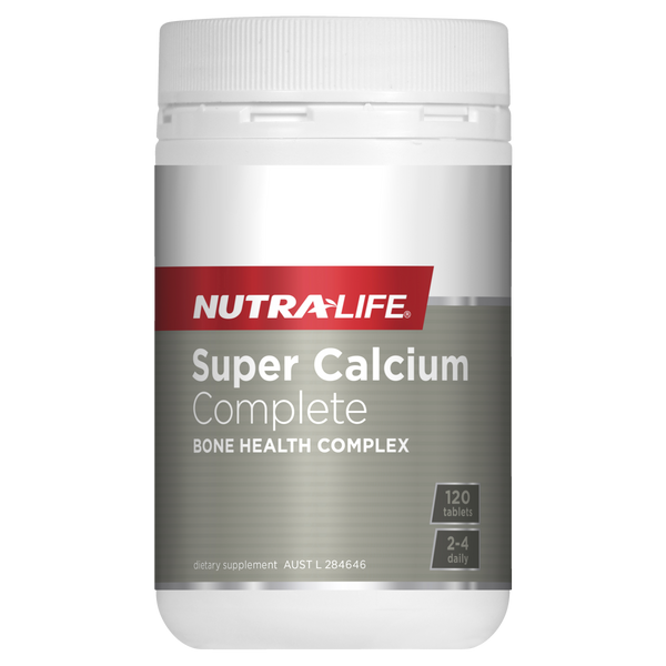 Nutra-Life Super Calcium Complete 120 Tablets