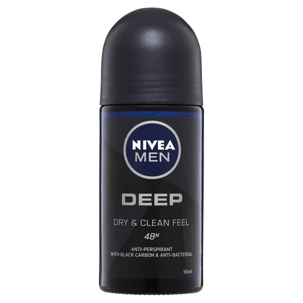 Nivea Men Deep Anti-perspirant Roll-on Deodorant 50ml