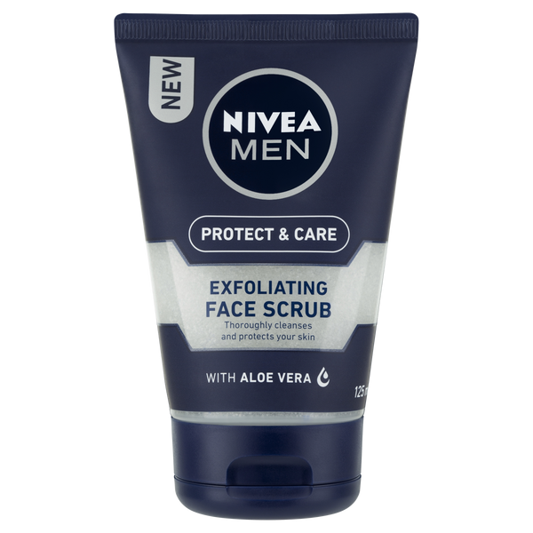 Nivea Men Protect & Care Exfoliating Face Scrub 125ml