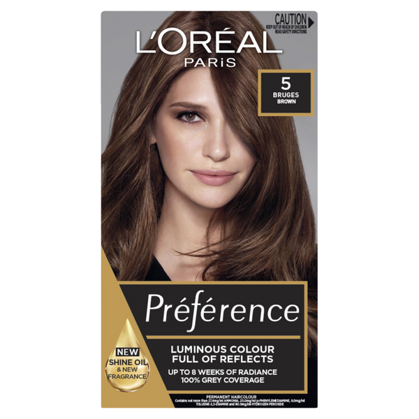 L'Oreal Paris Preference 5 Bruges Natural Brown