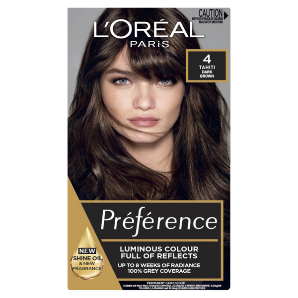 L'Oreal Paris Preference 4 Tahiti Dark Brown