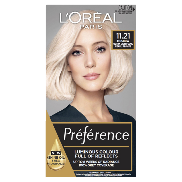 L'Oreal Paris Preference 11.21 Ultra Light Cool Pearl Blonde