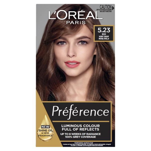 L'Oreal Paris Preference 5.23 Rio Very Deep Rose Gold