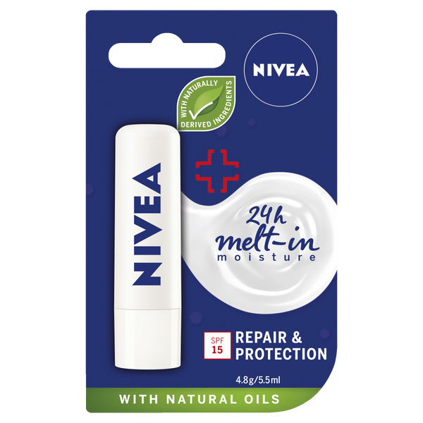 Nivea Lip Care Repair & Protection 4.8G
