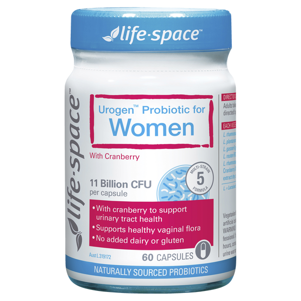 Life Space Urogenital For Women 60 Caps