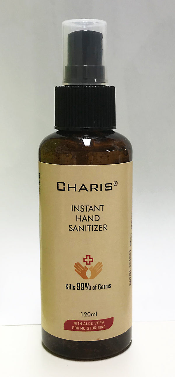 Charis Instant Hand Sanitisers 120ml