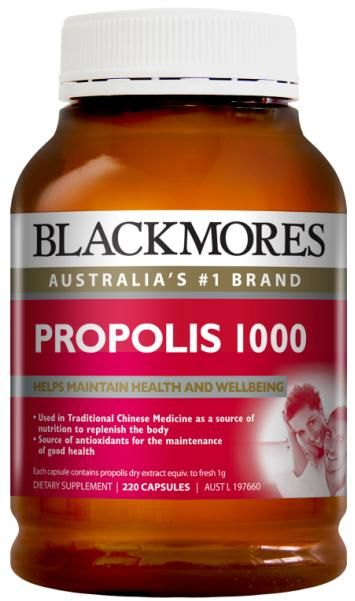 Blackmores Propolis 1000Mg 220 Caps